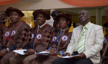 Faculty Deans with Prof. Olagunju
